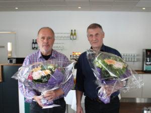 Brynjálvur Jensen og Ólavur F. Johannessen 25 ára starvsdag